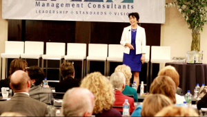 Rita speaking at Academy of Dental Management Consultants ADMC